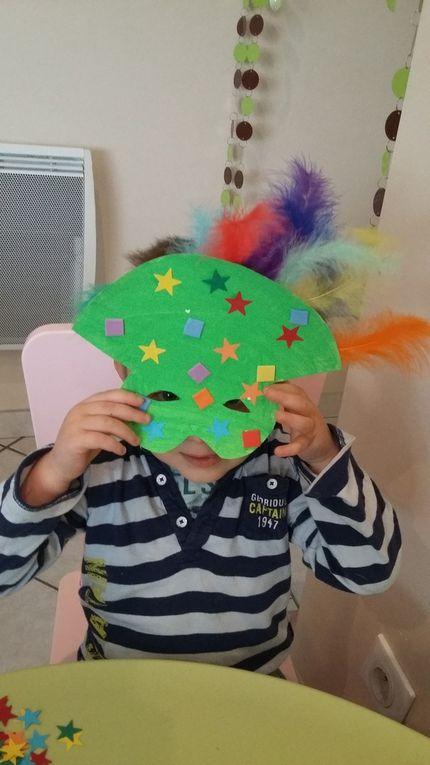 Les masques de carnaval