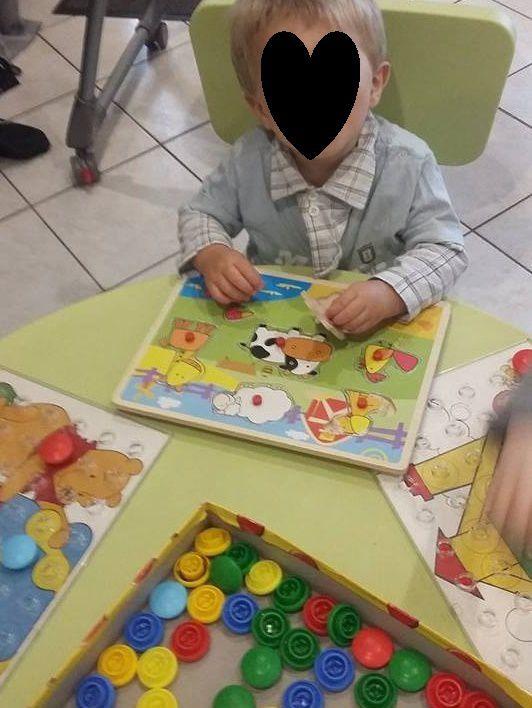 Colorino et puzzle