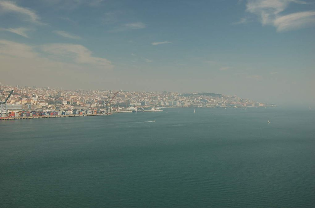 Meia Maratona de Lisboa - Le semi-marathon de Lisbonne sur le Pont du 25 avril