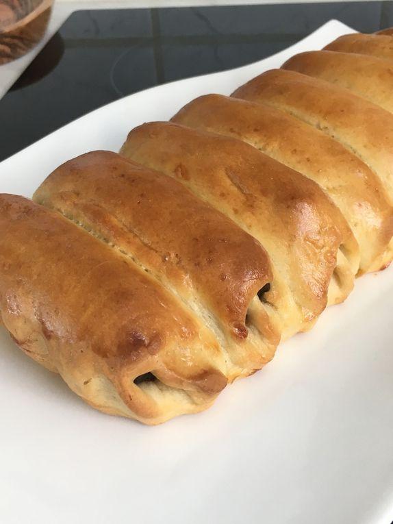 Brioche façon pain au chocolat