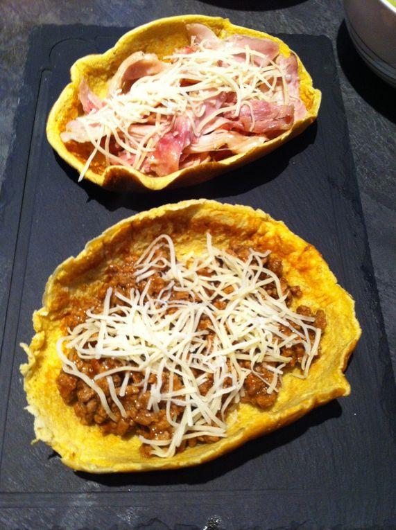 Panadillas pour tacos Dukan
