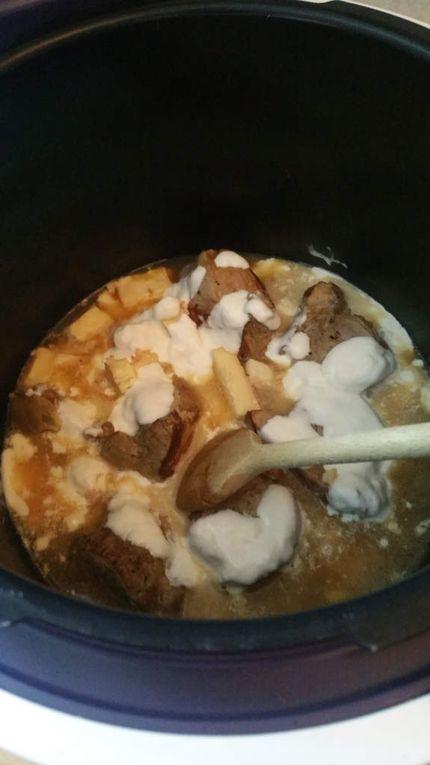 Filet mignon au maroilles et croustillant butternut