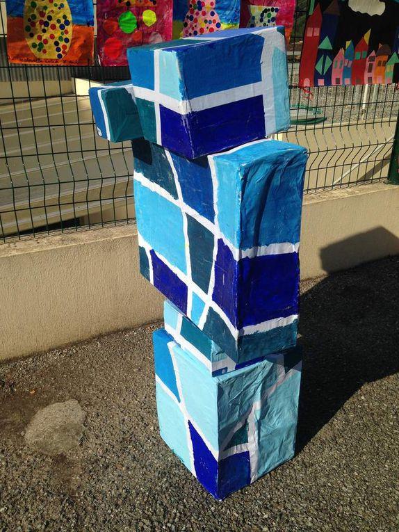 Exposition des écoles de Biot : &quot&#x3B; Capron &amp&#x3B; la géométrie dans l'art &quot&#x3B;