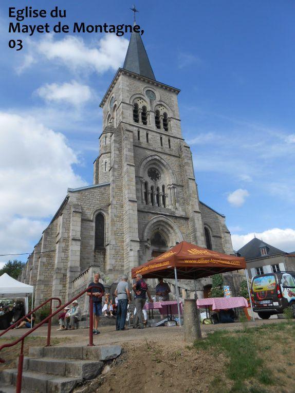 Le Mont St Michel, Lavaudieu, Le Mayet de Montagne, Morvan, St Flour, Aveyron, Méribel.