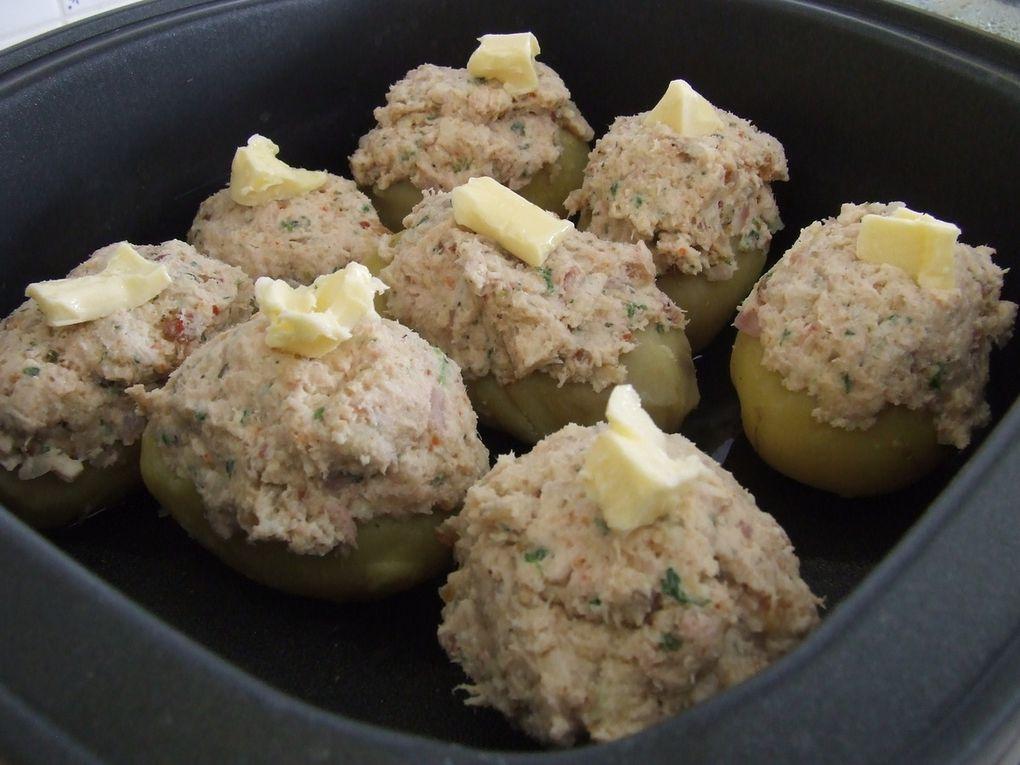 Virtuo Cook : Pommes de Terre Farcies...