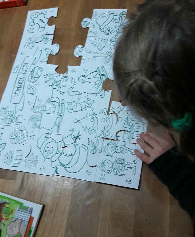 Le puzzle à colorier