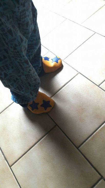 Les chaussons Vegan de Syniel