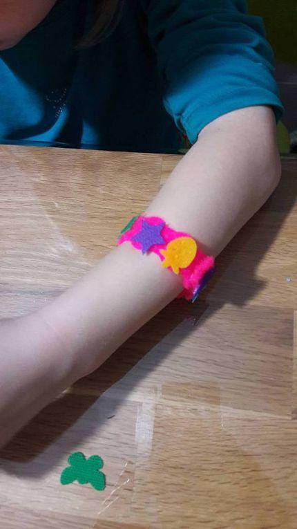 Le rendu des bracelets - SES Creative