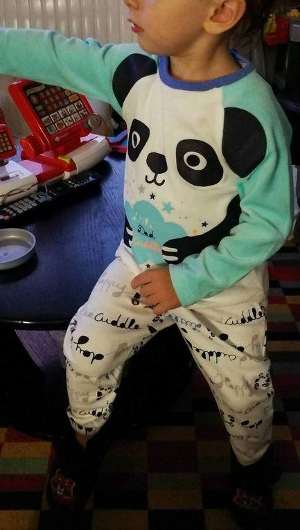 Pyjama Pandalapin par Petit Béguin