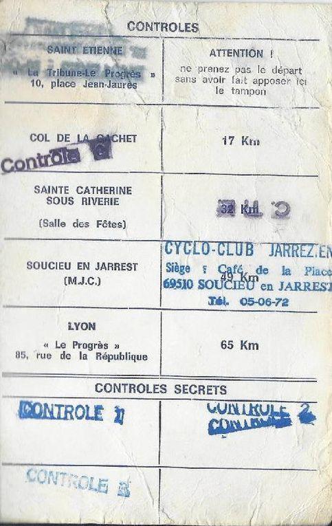 Mes Lyon - Saint Etienne années 1977 - 1978 - 1979