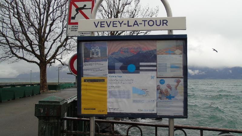 Le Léman - Vevey - La Tour de Peilz - Février 2016