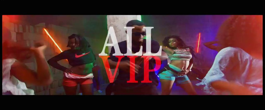 Quelques images du Clip ALL VIP de Magasco