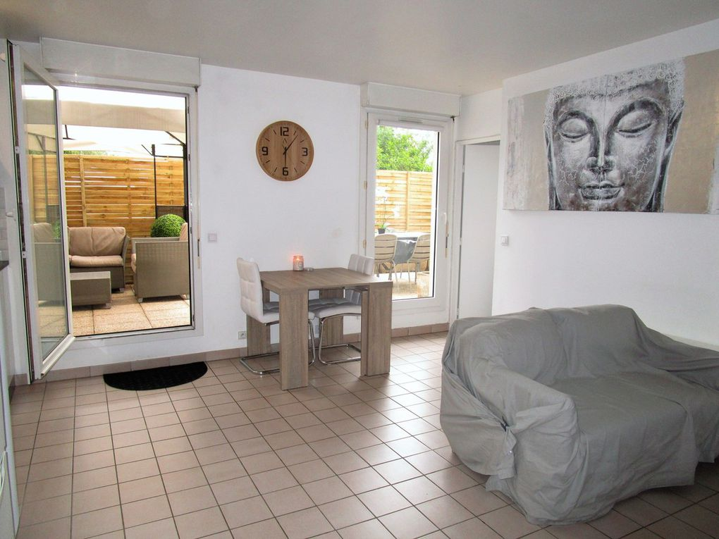 SOUS COMPROMIS : Appartement à VILLENEUVE LA GARENNE (92390) 2 pièces de 37 m² - 165 000 €