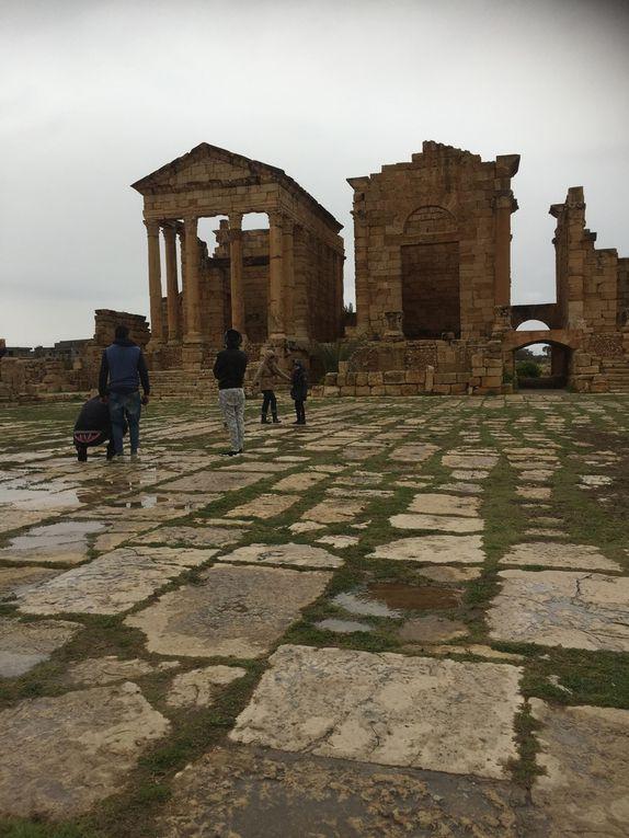 Le site antique de Sbeitla dans toute sa splendeur. Rien à envier au site antique de Rome .