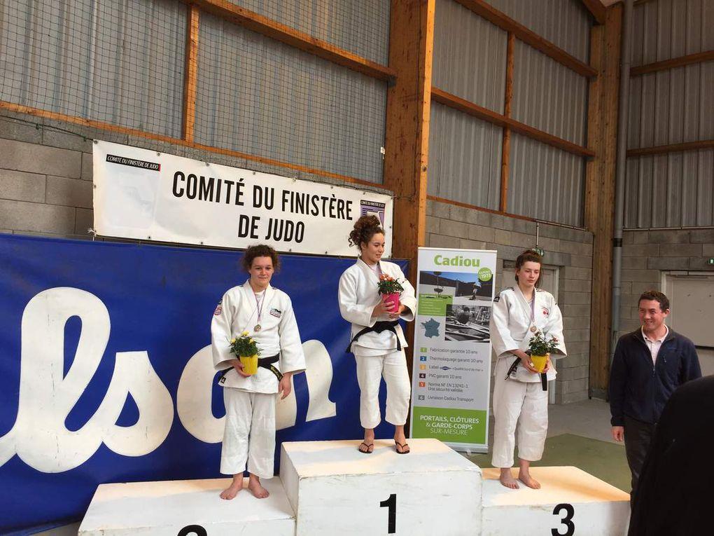 100 % des juniors sur le podium des championnats du Finistère