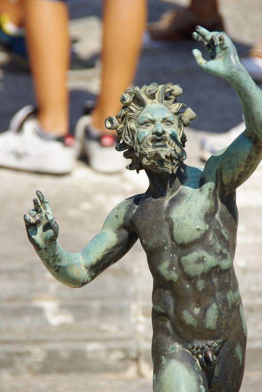 Pompei et le Vésuve
