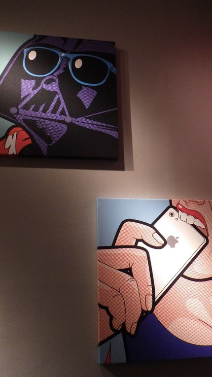 AA5 The Comic Pop Art in Tri Postal- Lille