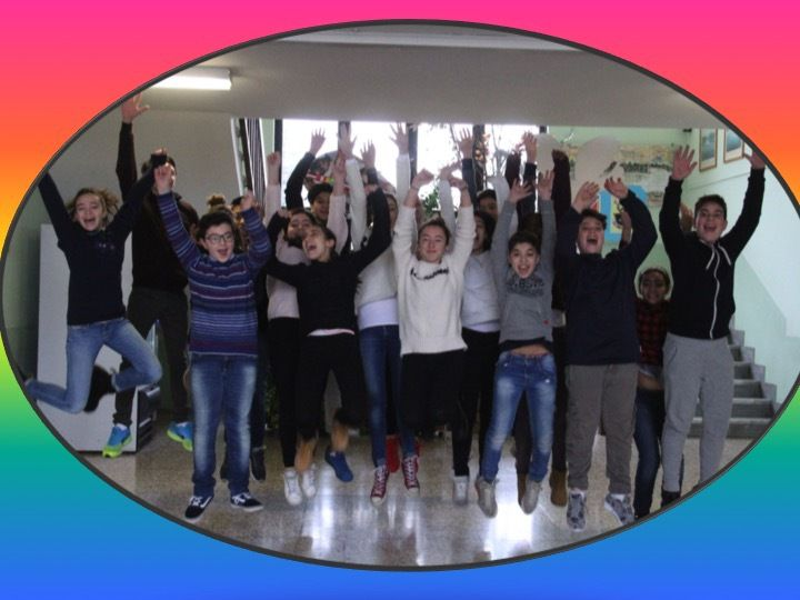 Students learnt some techniques in taking photographs and tried to portrait positive emotions and feelings to show the happiness of life