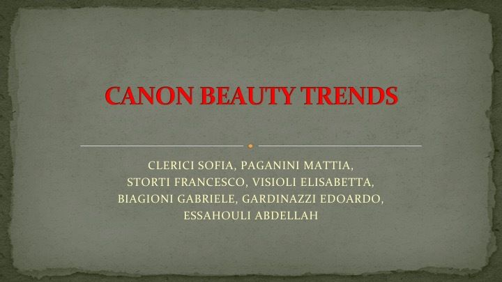 AMT3 Canon Beauty Trends
