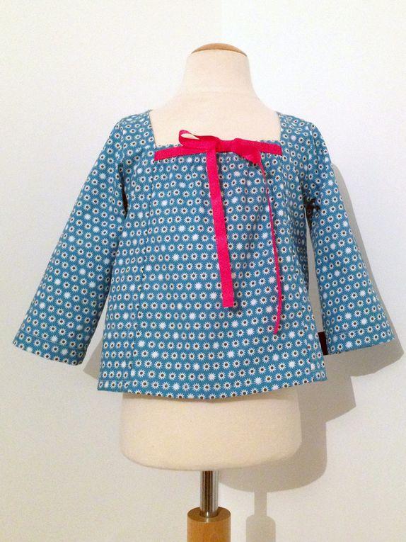 Les blouses Marie-Antoinette