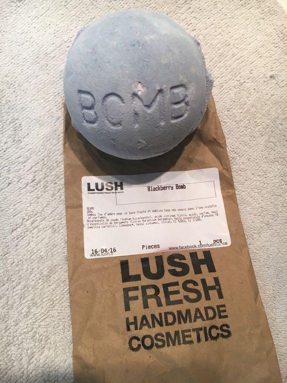 Bombe de bain Lush &quot&#x3B;Blackberry&quot&#x3B;