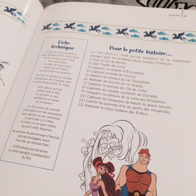Rdv Passion : Les beaux dessins animés de Walt Disney Tome 1 et 2