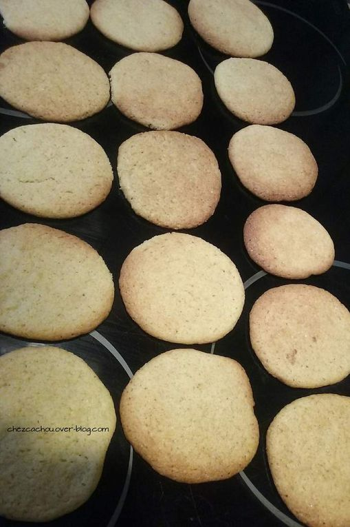 Biscuits saveur mojito (sans alcool)