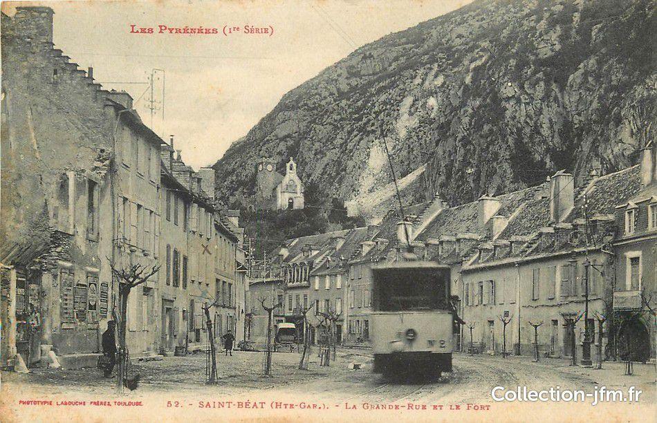 Marignac et ses environs début du 20ème siècle.
