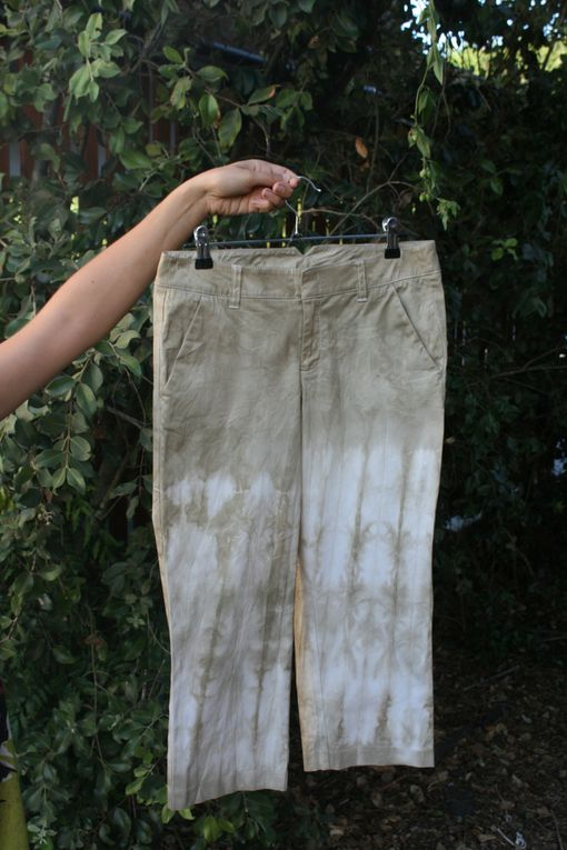 un aperçu des vêtements que j'ai teint / snipet of the garments I've dyed
