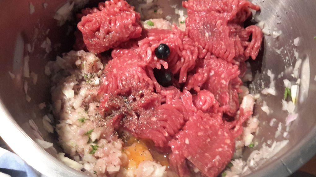 Tomates courgettes pommes de terre farcies au companion, thermomix ou sans robot