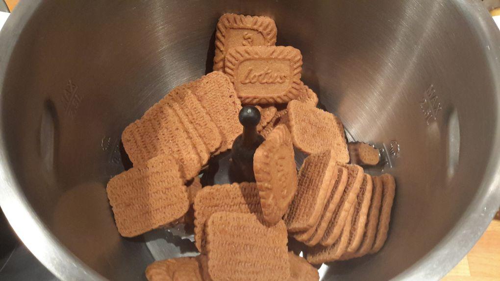 Pâte à tartiner aux spéculoos (au companion, avec ou sans robot)