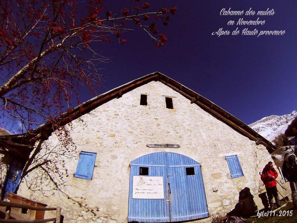 Cabane des MULETS et TOUR du TOURTOUREL en Novembre