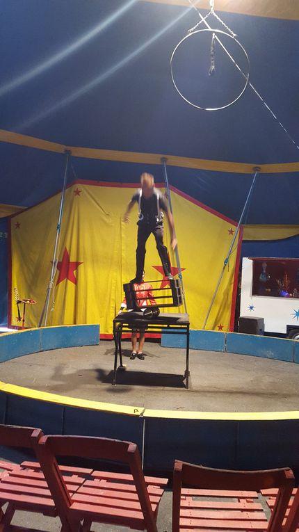Le Cirque Européen à Vigeois.