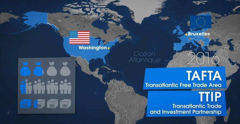 Le TTIP (Transatlantlic Trade and Investment Partnership) :