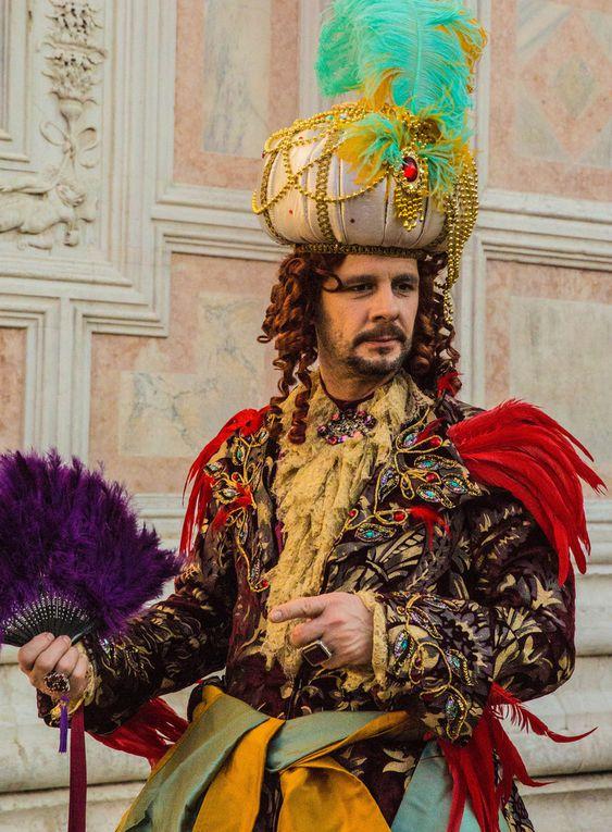 Les costumés du Carnaval de Venise  en 2015 - en cours