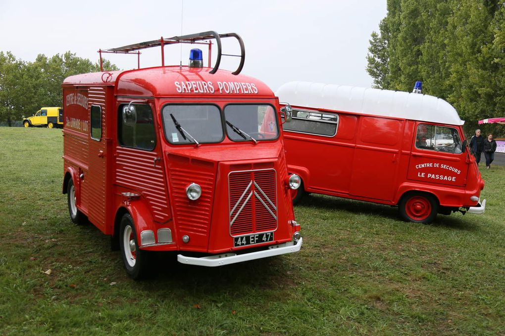 Les véhicules du feu
