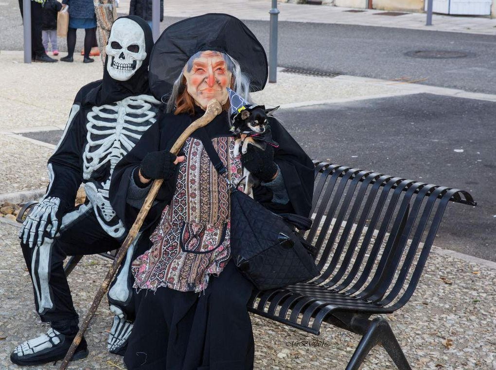 2016 - Halloween à Casseneuil avec Clin d'Oeil 47