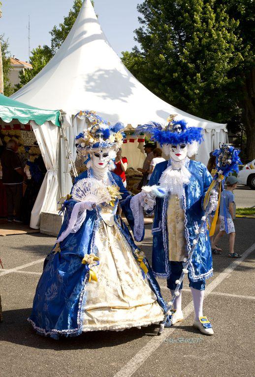 2017 - Les Masques Vénitiens de France à Villeneuve sur Lot
