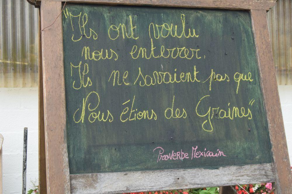 La ferme &quot&#x3B;à La Source&quot&#x3B; à Redu : un potager pour penser...et agir