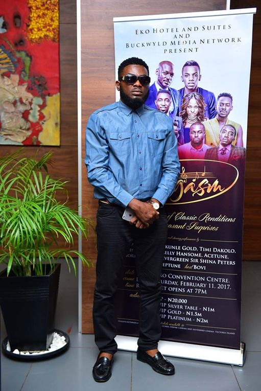 Eargasm photos with stars, 2 Face, Niyola, Acetune and Kelly Hansome