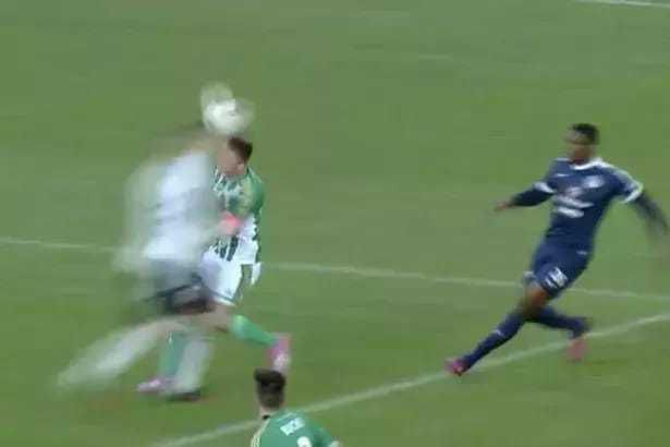 Footballer stops opponent from choking on his own tongue (photos/video).