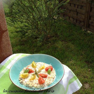 risotto de céréales