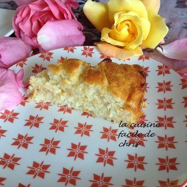 Gâteau moelleux à la  ricotta