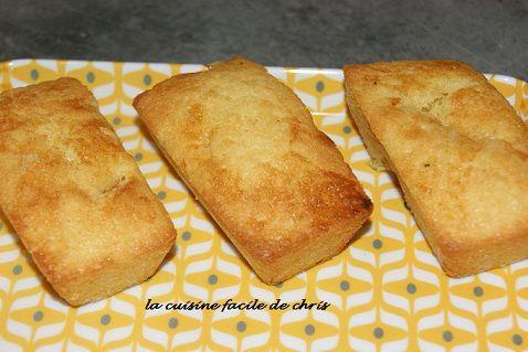 Minis cakes aux kumquats confits