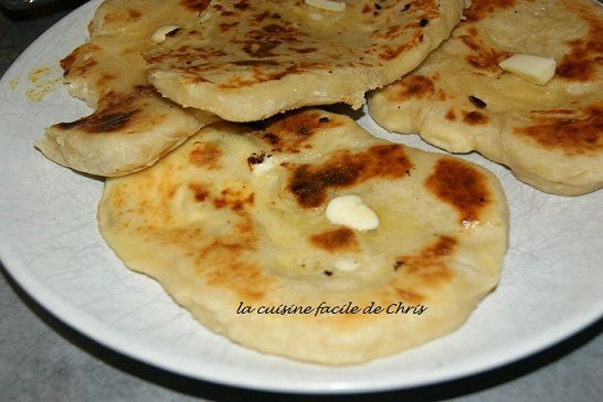 Cheese naan (naan au fromage)