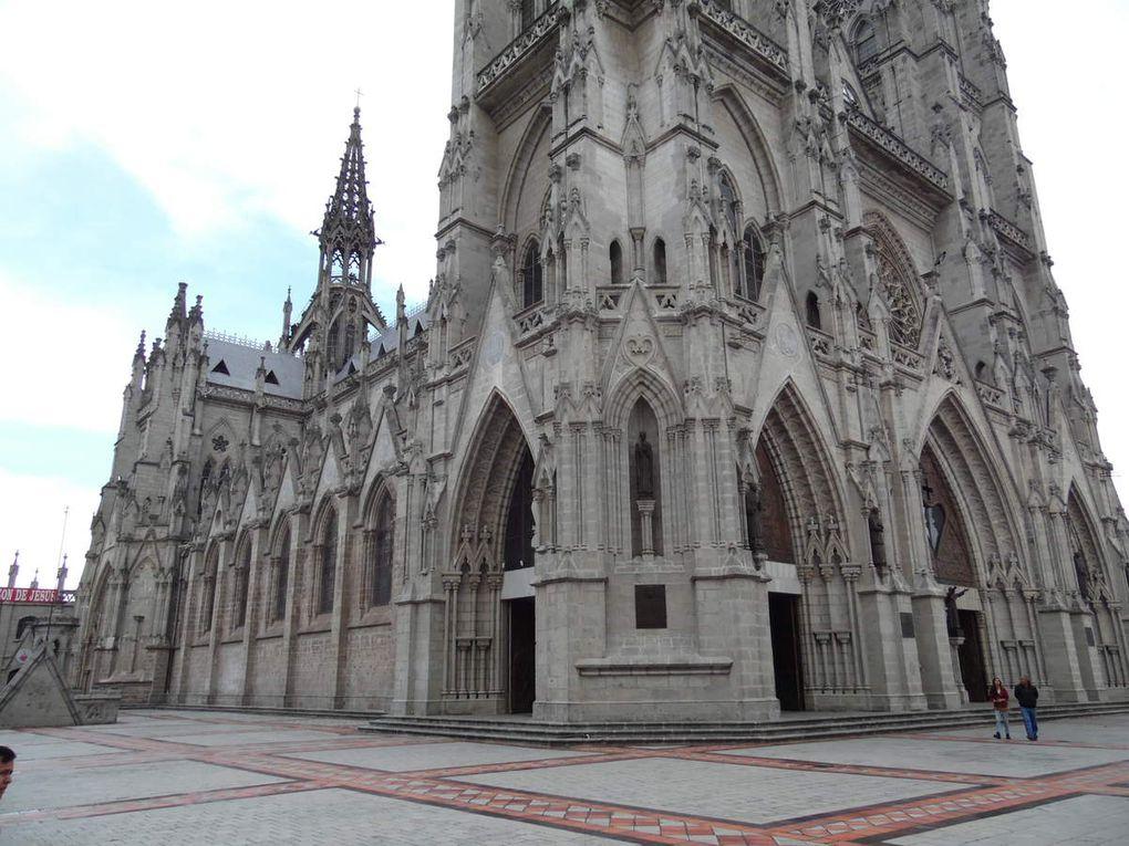 Basilica del Voto National et l'Iglesia de la Compaña de Jesus