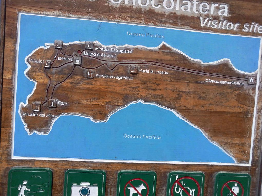 Salinas, la Chocolatera et la Loberia