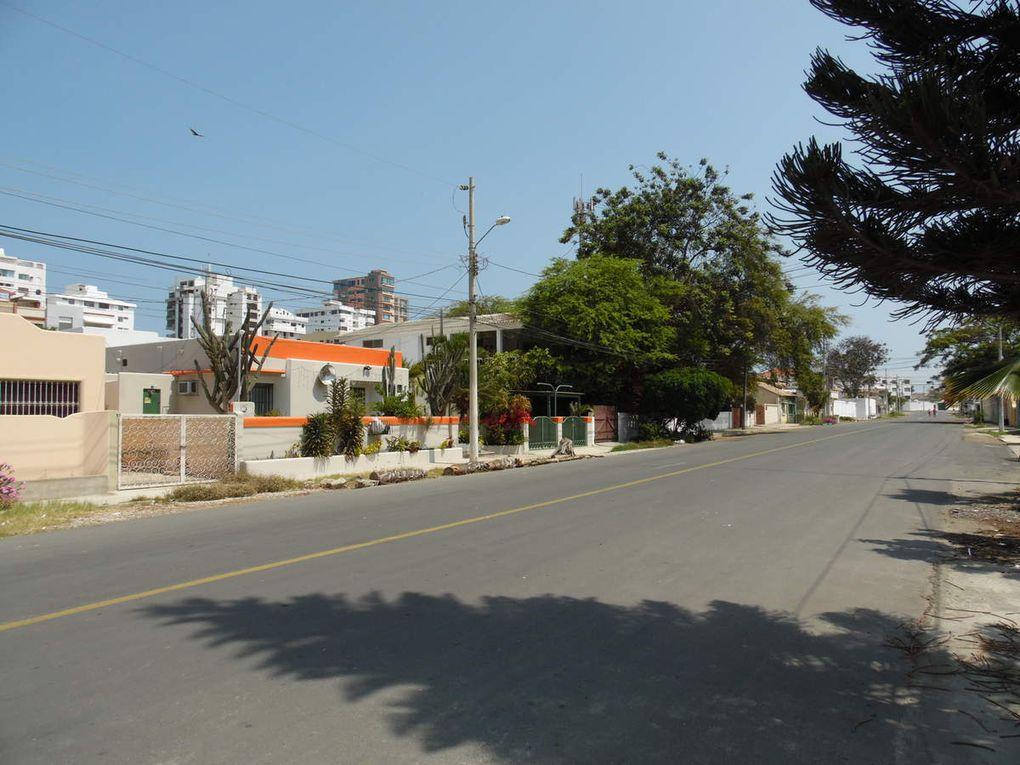 Salinas et l'une de ses plages