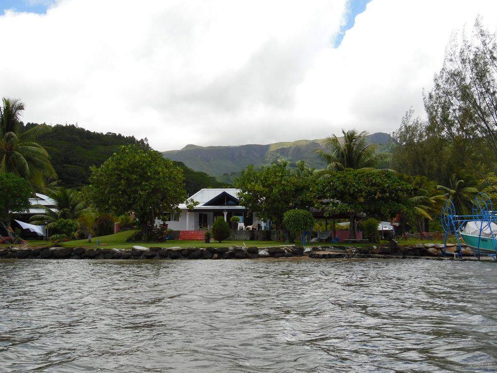 Raiatea et la Polynésie française.