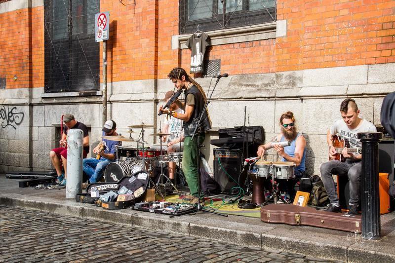 Un week-end à Dublin et quelques souvenirs en tous genres